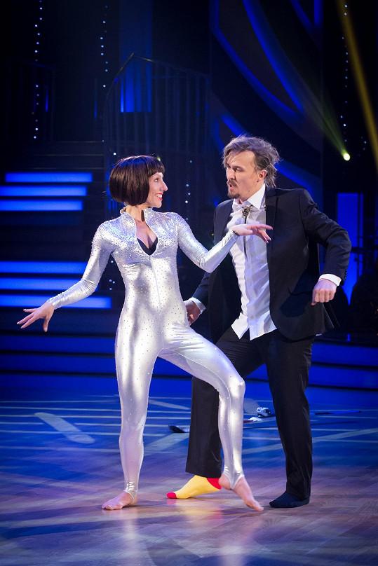 Ondřej Bank a jeho finálový volný tanec s Evou Krejčířovou