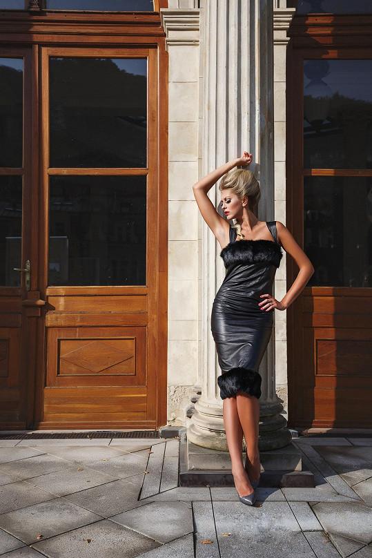 Zorka se stala tváří módní kolekce.