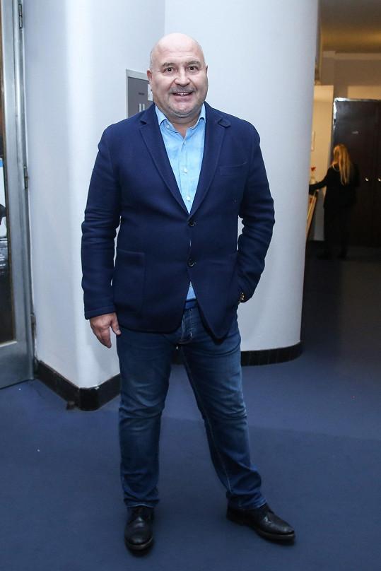 V divadle se objevil také autor hudby Michal David.