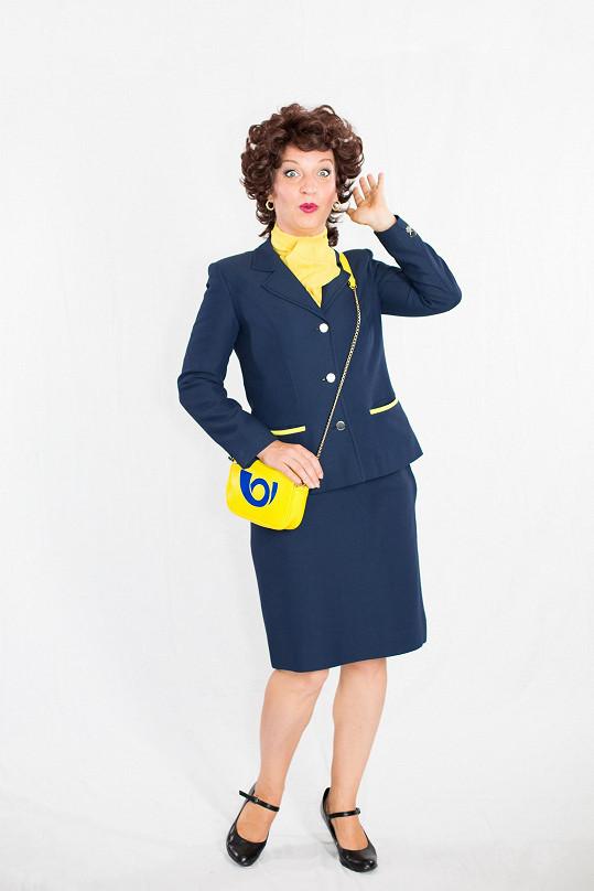 Sandra Pogodová se představí v roli listonošky.