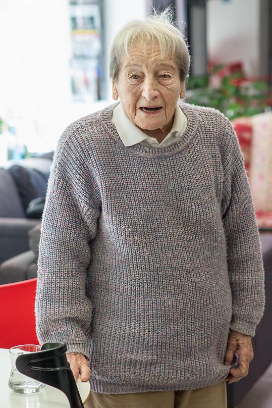 Dana Zátopková se dožila požehnaného věku 97 let.