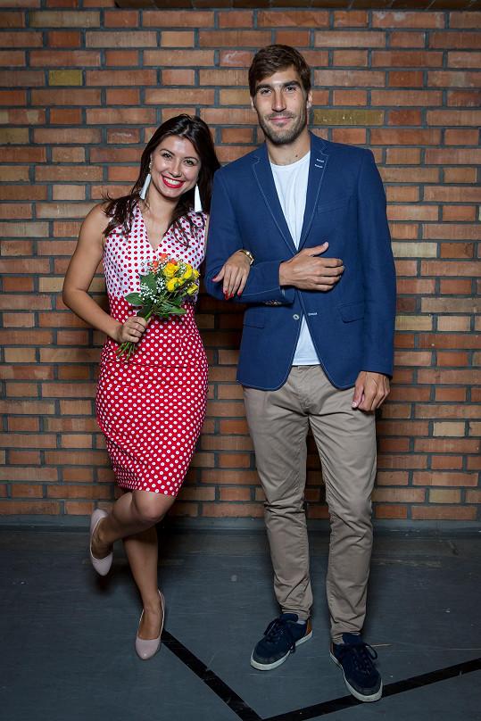 Veronika Lálová a David Svoboda spolu budou tančit v další řadě StarDance.