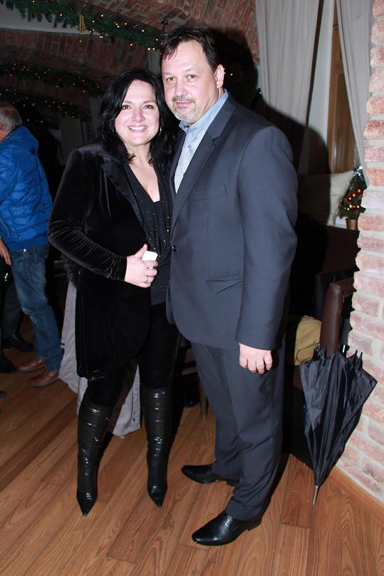 Šárka Rezková s přítelem Mirkem