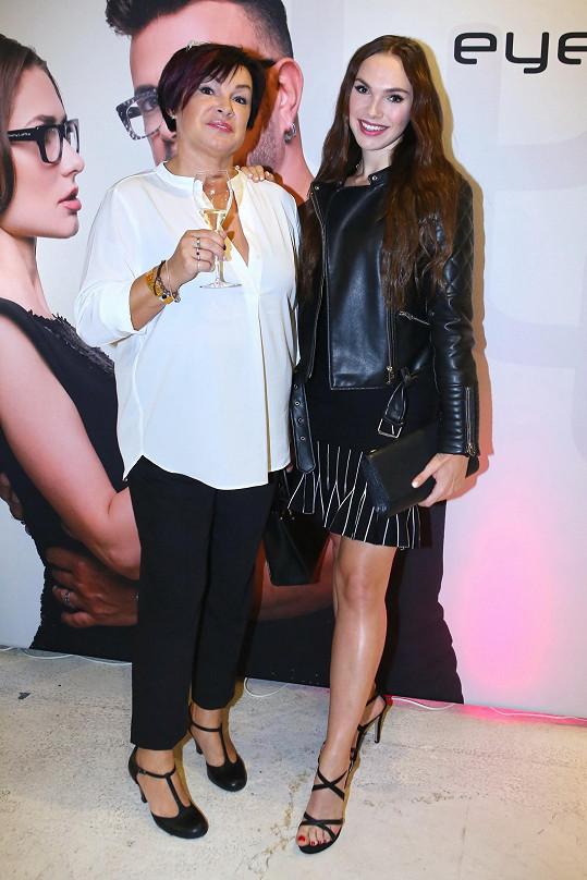 Nebo Kamila Nývltová s maminkou
