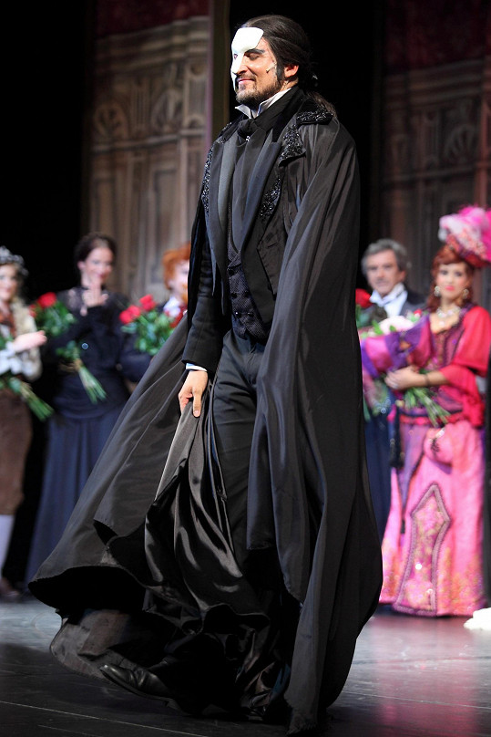 Radim Schwab jako Fantom opery