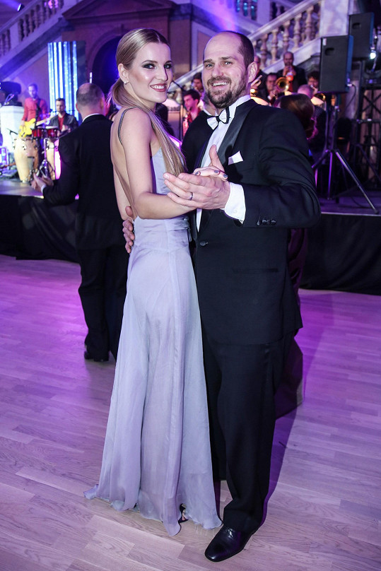 Veronika s exmanželem Milanem Procházkou