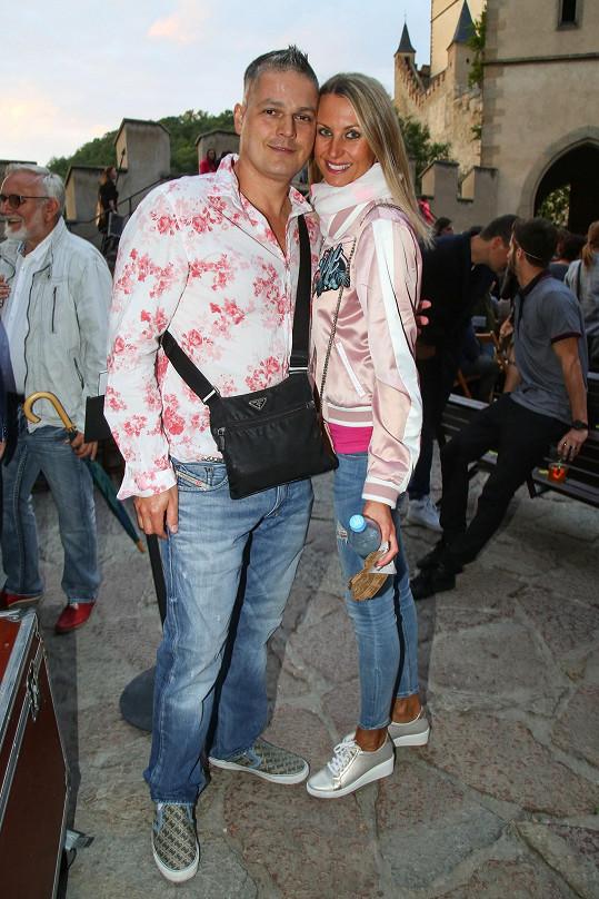 Přišel i Petr Vlasák s manželkou.