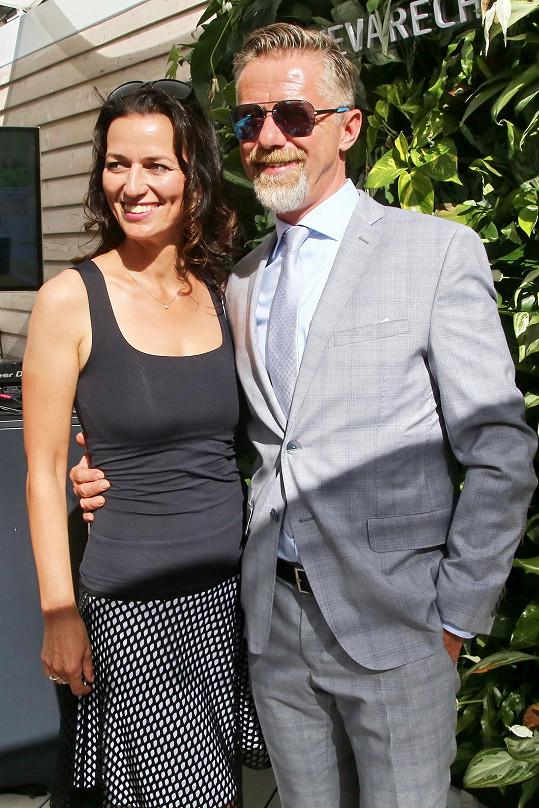 Adéla Gondíková a Jiří Langmajer jsou manželé.