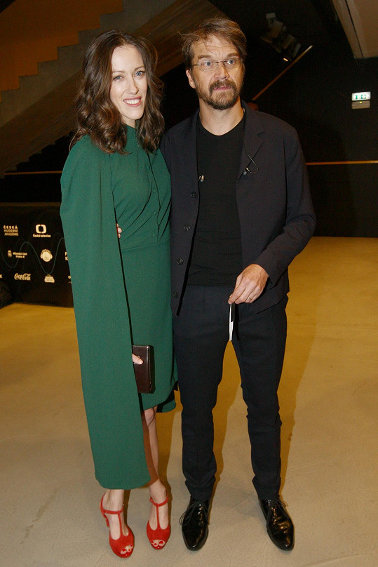 Dan Bárta s manželkou Alžbětou je důkazem, že se lze sladit s partnerkou i s kapelou.