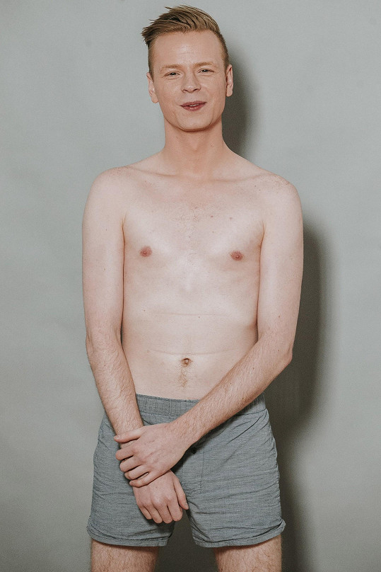 Pavel Dytrt na castingu Muže roku