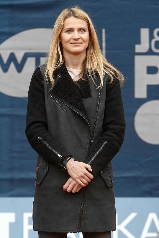 Lucie Šafářová již ukončila kariéru a pře pár dny ohlásila těhotenství s Tomášem Plekancem.