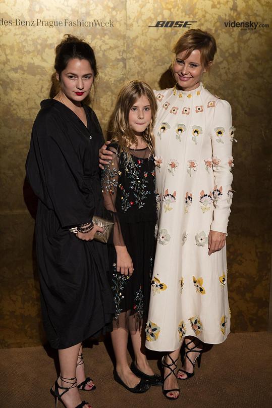 Jitka s dcerou Sofií Annou, jejímž otcem je herec David Švehlík.