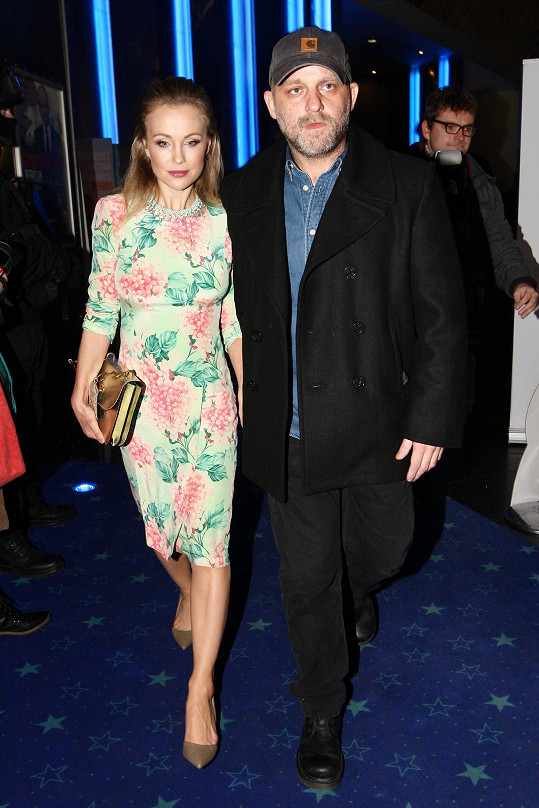 Vlastina Svátková a Hynek Čermák přišli na premiéru spolu.