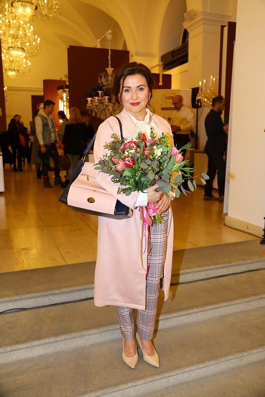 Morávková předvedla novou kolekci svých kabelek.
