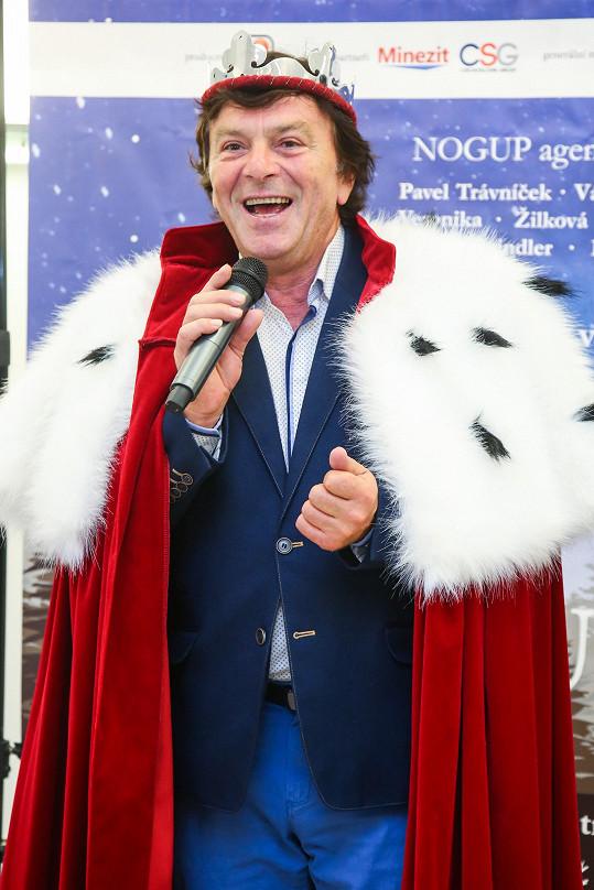Role krále se v představení ujme Pavel Trávníček.