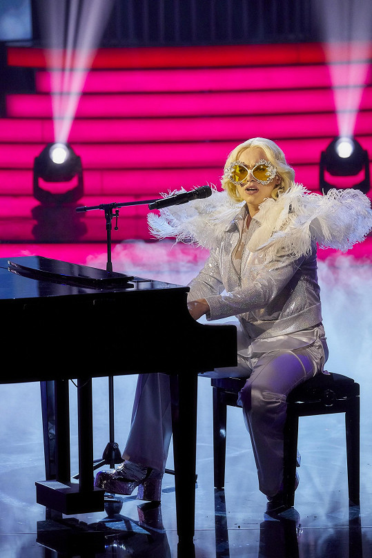 Vojtěch Drahokoupil jako Lady Gaga