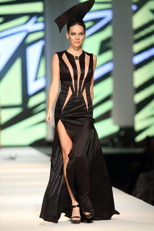 Módní show Natali Ruden měla velký úspěch.