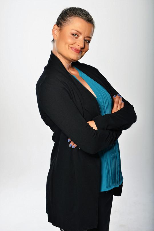 Erika Stárková si zahrála asistentku na policii v seriálu Dvojka na zabití.