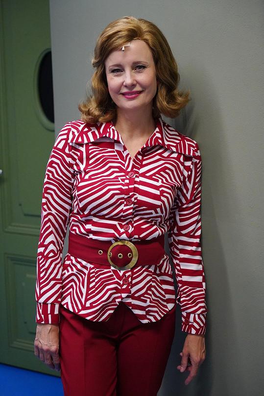 Jitka Schneiderová jako Alžběta v muzikálu Rebelové