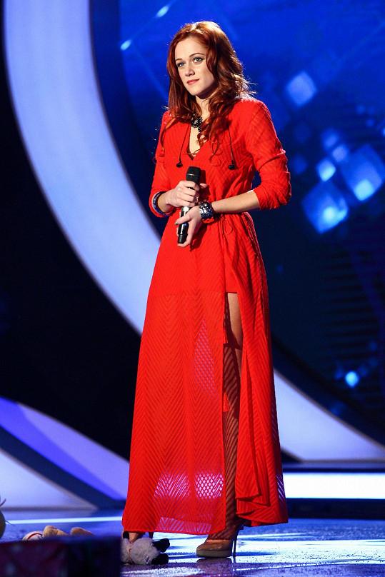 Emma Drobná zaujala diváky nádherným hlasovým projevem.