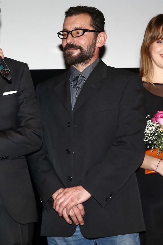 Ondřej Vetchý hrál ve filmu partnera Terezy Kostkové.