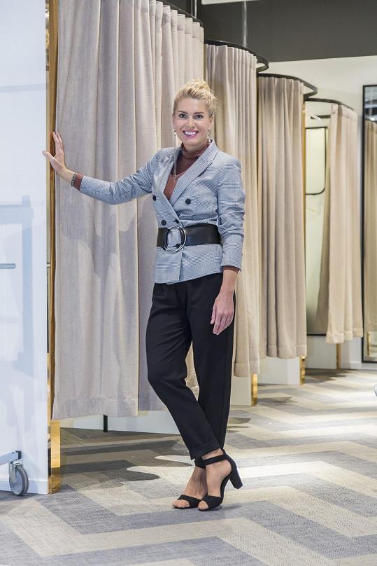 Na otevření prodejny švédského módního řetězce se Olga rozpovídala o dovolené ve Španělsku.