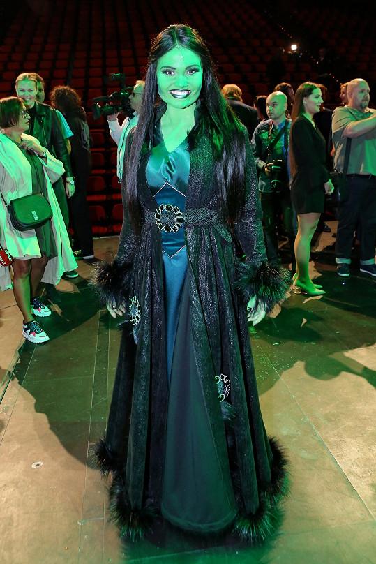 Elis je hvězdou připravovaného muzikálu Čarodějka.