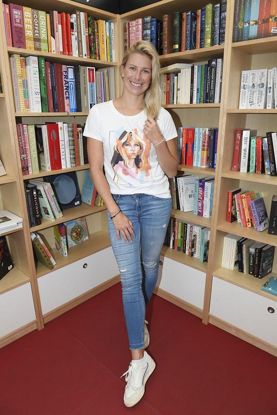 Andrea Sestini Hlaváčková nelenila ani před tanečními tréninky.