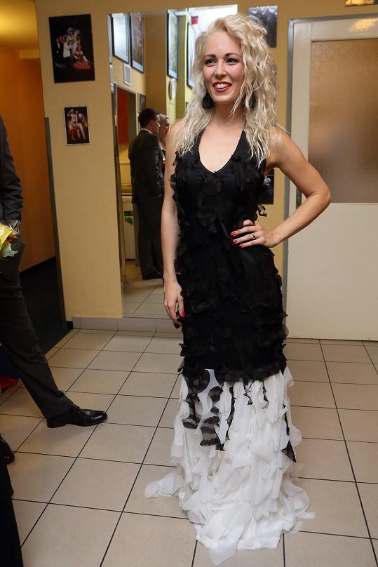 Markéta se na afterpárty po premiéře hodila do gala.