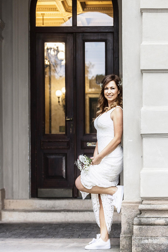 Hlaváčková fotila svatební trendy.