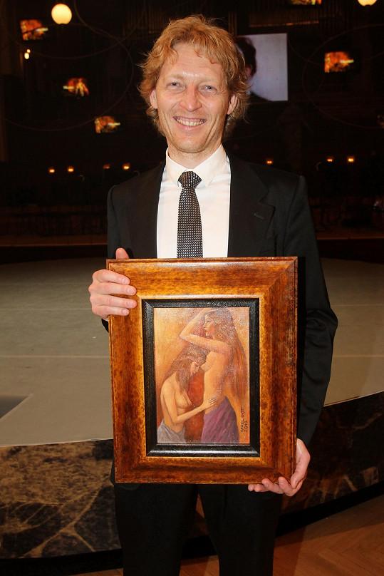 Karel Janeček přišel o obraz od Karla Gotta.