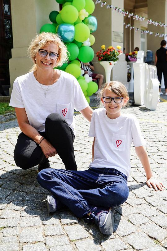 Kateřina Stočesová s dceoru Annemarií