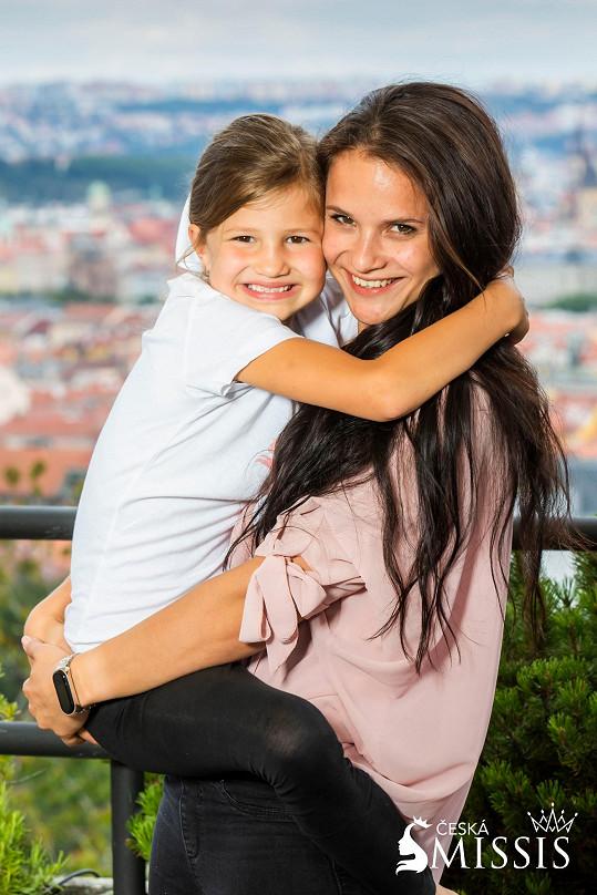 Lenka Sýkorová a její dcera
