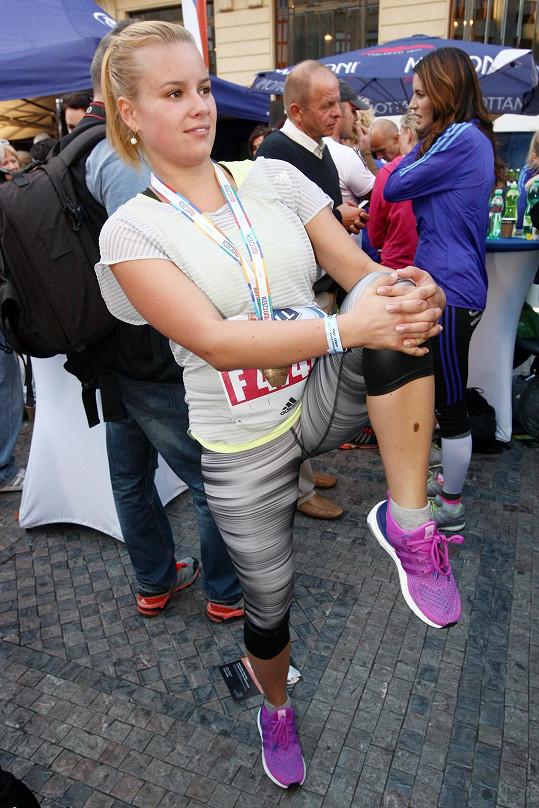 Patricie Solaříková je ráda v pohybu.