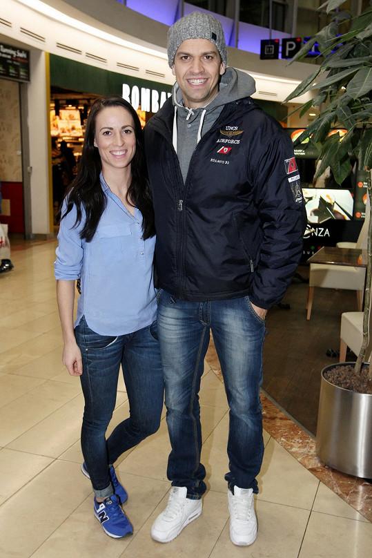 Či Petr Vojnar s partnerkou Andreou