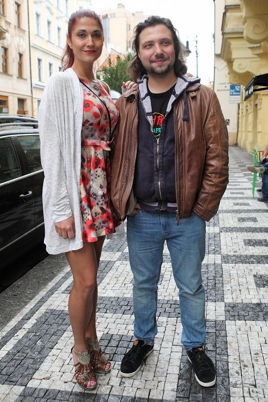 Felix mladší se snoubenkou Míšou Zemánkovou