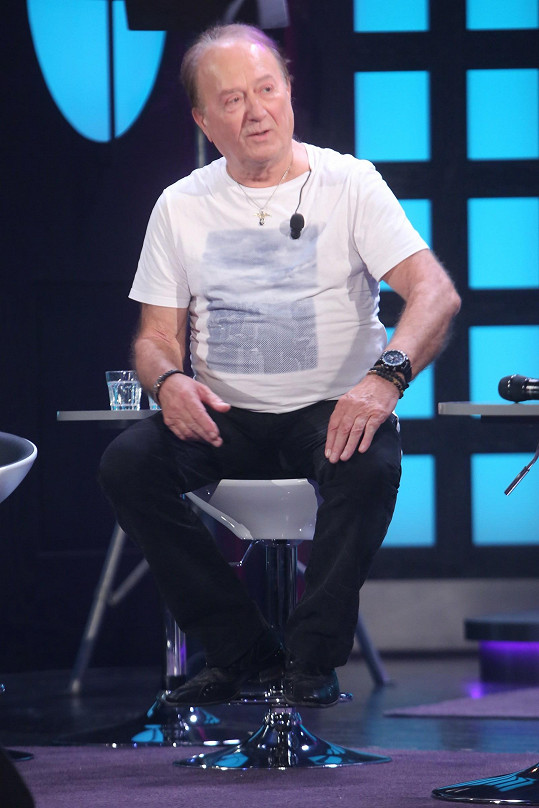 Janda byl jedním z hostů premiérového dílu nové talkshow.