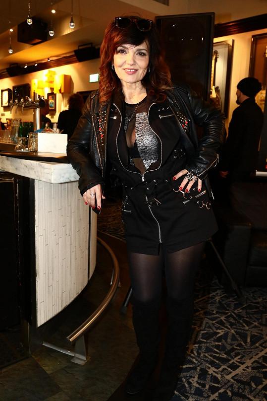 Tanja je stále rockerkou duší i tělem...