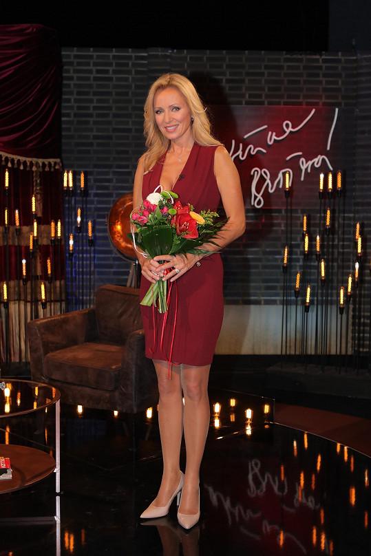 Kateřina střídá velmi sexy outfity.
