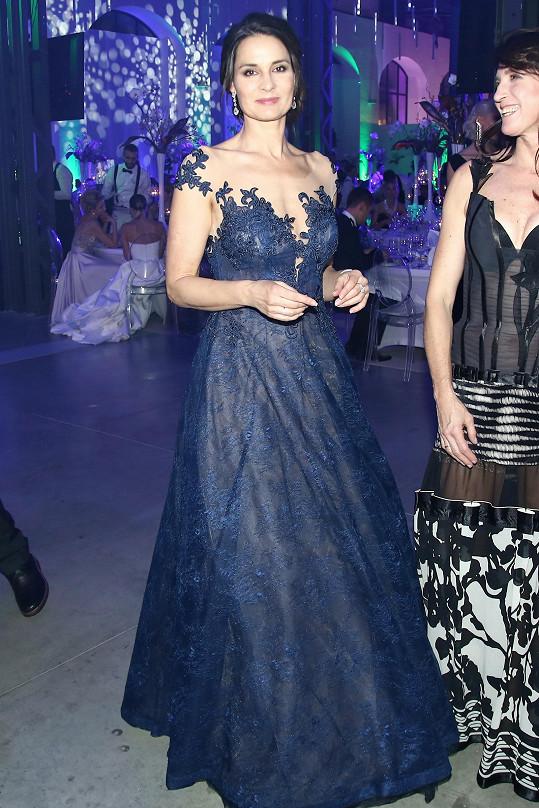 Na Plese jako Brno se objevila i bývalá Miss ČR Terezie Dobrovolná.