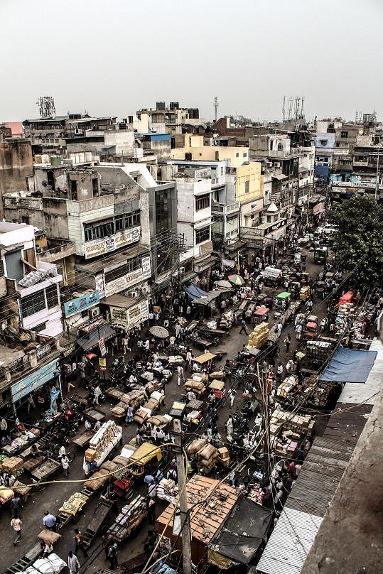 V Dillí bydlí 20 miliónů lidí.