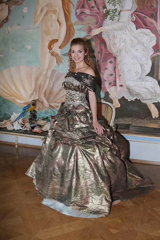 Denisa Pfauserová vždycky toužila po tom, že si jednou zahraje princeznu.