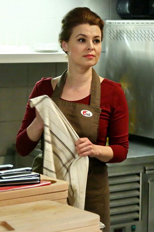 Diváci ji uvidí v seriálu Ohnivý kuře.