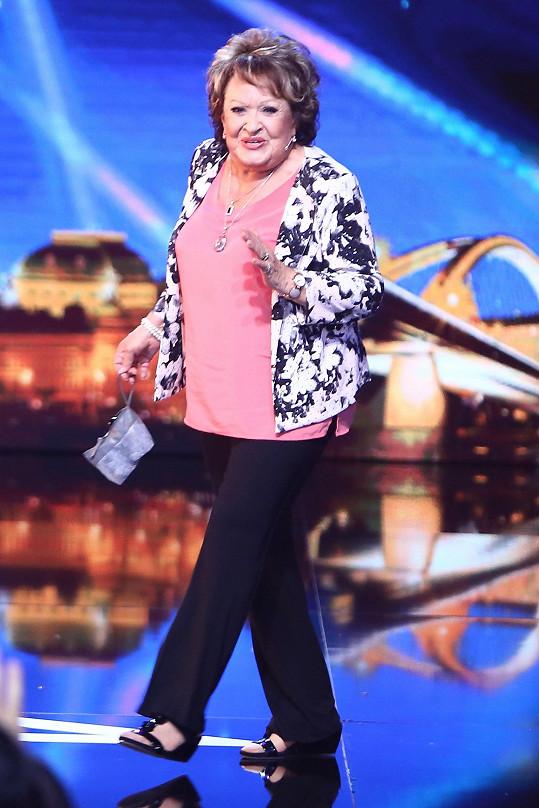 Jiřina Bohdalová se objeví v Talentu.