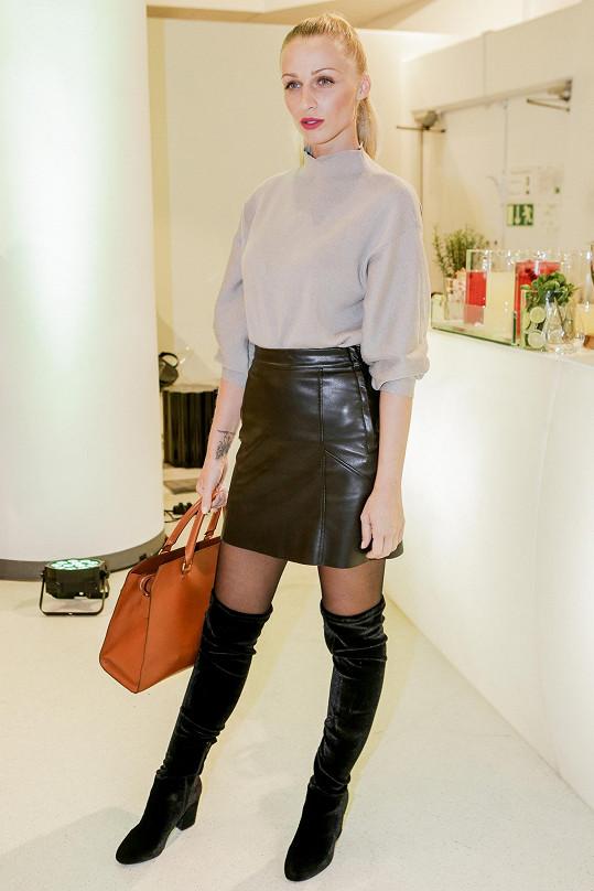 Veronika Kašáková má dokonalou postavu, ale tu na molech ukazuje už jen výjimečně.