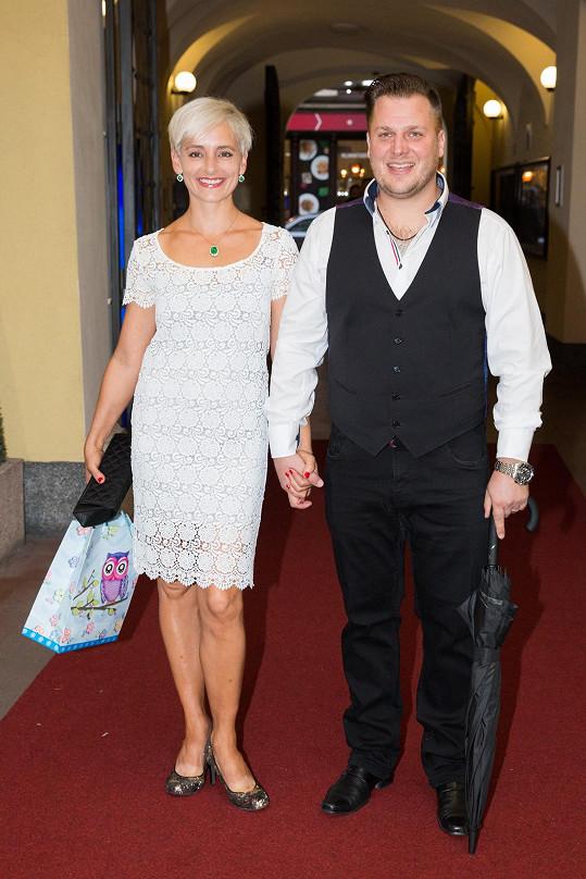 Tomáš Savka s manželkou Zuzanou