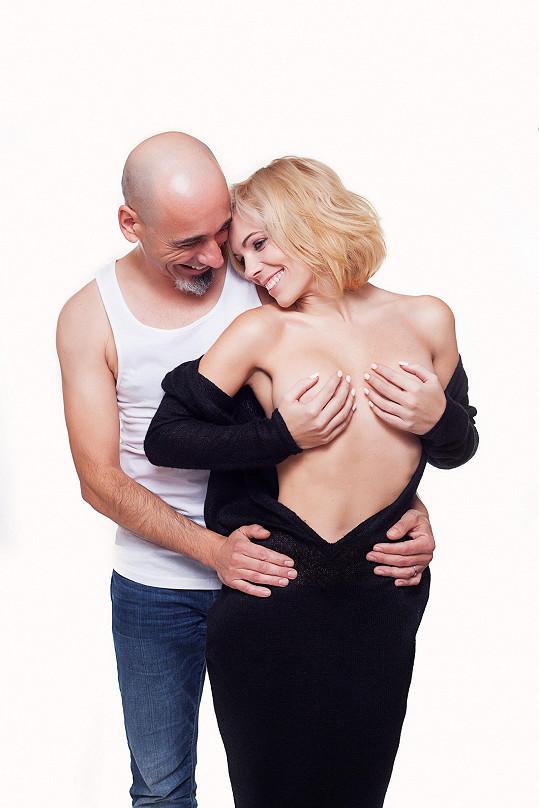 Michaela Nosková nafotila s přítelem sexy snímky.