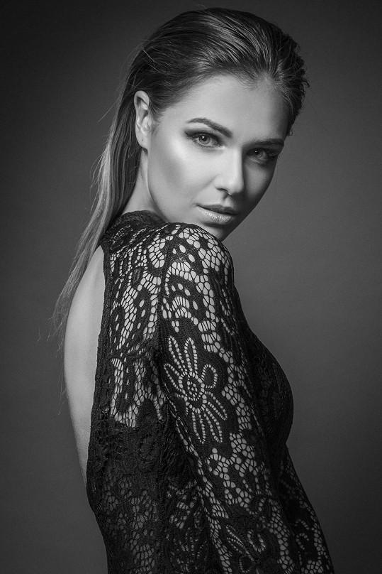 Lucie bodovala na České Miss.