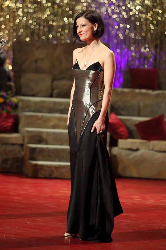 Tereza obdržela Thálii za roli Markýzy de Merteuil v inscenaci baletu Valmont.