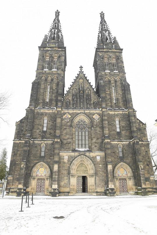 Poslední rozloučení se konalo v bazilice svatého Petra a Pavla na pražském Vyšehradě.